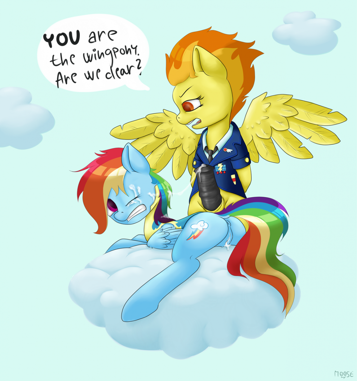 rainbow dash (mlp)+spitfire (mlp)+wonderbolts (mlp)