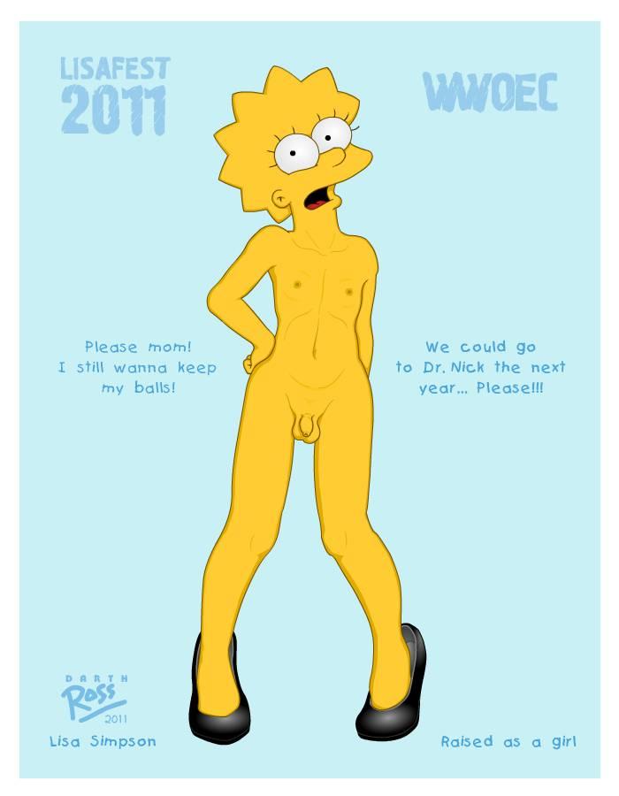 Lisa simpson hentai