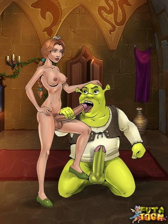 Shrek and fiona fucking porn